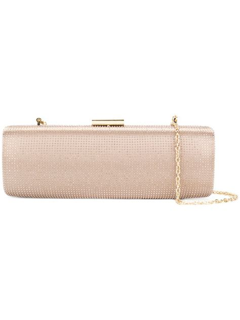 Couture Elongated Clutch by Moschino Embellished Elongated Clutch Modesens