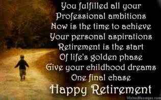 Retirement poems for boss happy retirement poems for bosses
