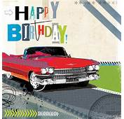 Classic Car Happy Birthday Free Clipart  Clipground