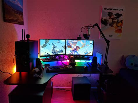 reddit home decor how to make a gaming setup in small room budget pc build home decor desk accessories set up