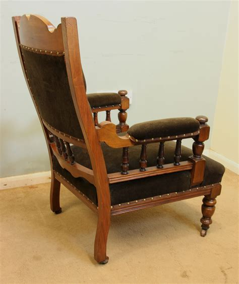 old armchair antique victorian georgian edwardian furniture the
