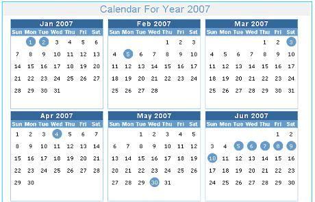 tutorial web calendar dynamic calendar web application in asp net 2 0