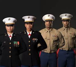 being a marine career roles leadership traits