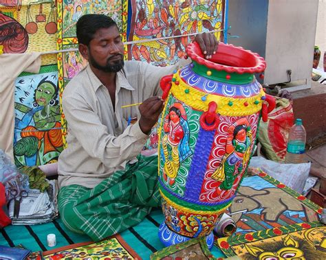 India Handcrafts - masters of craft traditional pottery of india