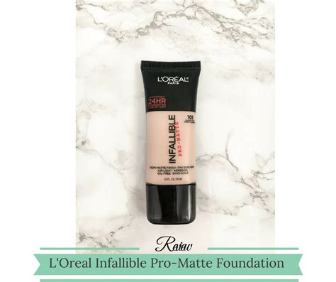 Jual Loreal Infallible Pro Matte l oreal infallible pro matte foundation review thrifted