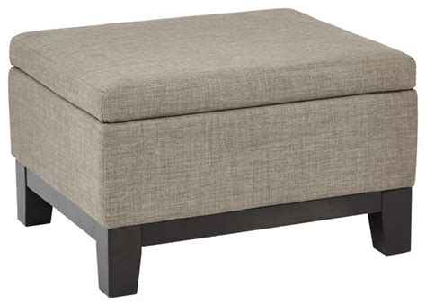 footstools and ottomans regent upholstered storage ottoman with reversible tray