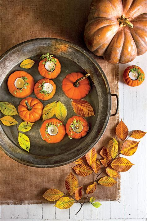 outdoor decorations  fall southern living