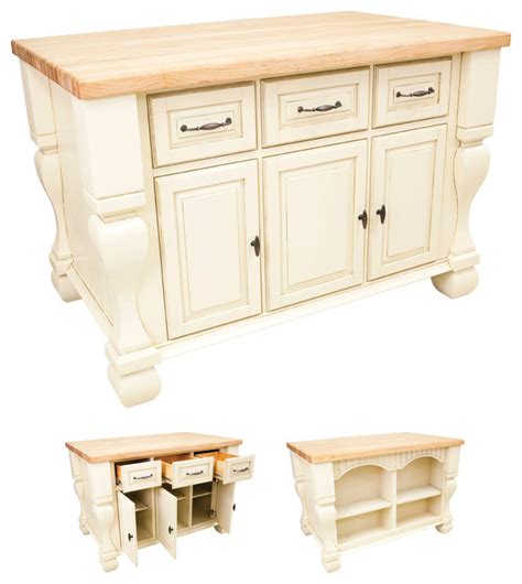 lyn design kitchen island french white traditional lyn design isl01 kitchen island antique white