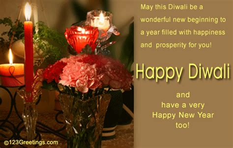 happy diwali and new year free hindu new year ecards