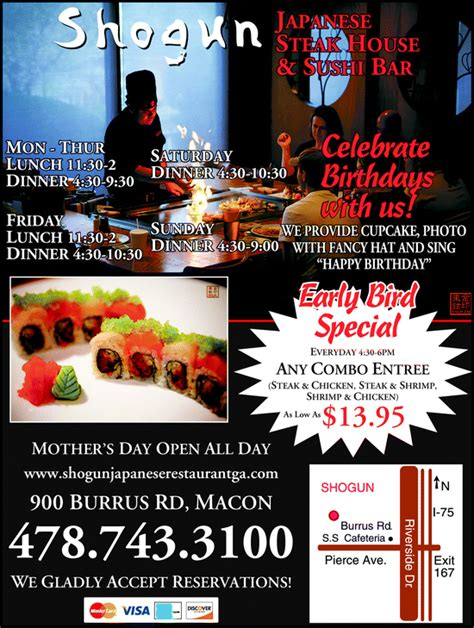 love boat sushi coupon restaurant macon ga shogun japanese restaurant lobster house