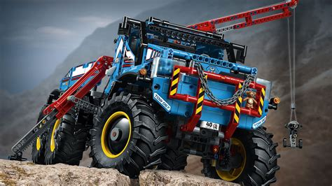 buy lego technic   terrain tow truck