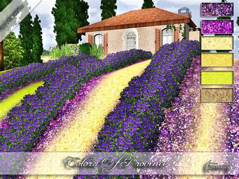 colors of provence pralinesims colors of provence