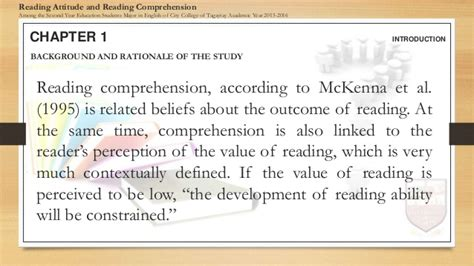 thesis abstract about reading comprehension sle questionnaire for thesis about reading comprehension