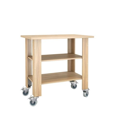 nexera mobile utility table biscotti the home depot canada