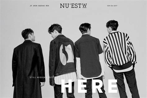 Ready Nu Est W Album W Here nu est w is here in their teaser for