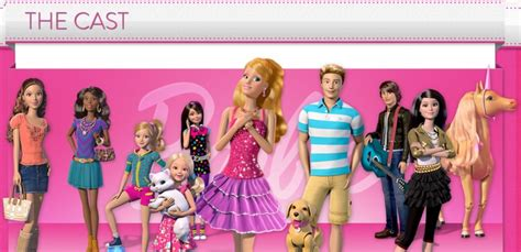 dream house cast barbie life in the dreamhouse giveaway can