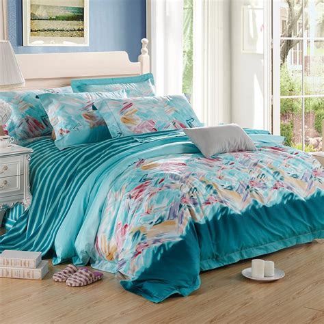 teal and pink bedding aqua teal and pink watercolor patchwork graffiti and candy