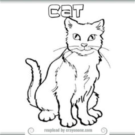 cat coloring sheets sphynx cat pictures 1gif calico cat