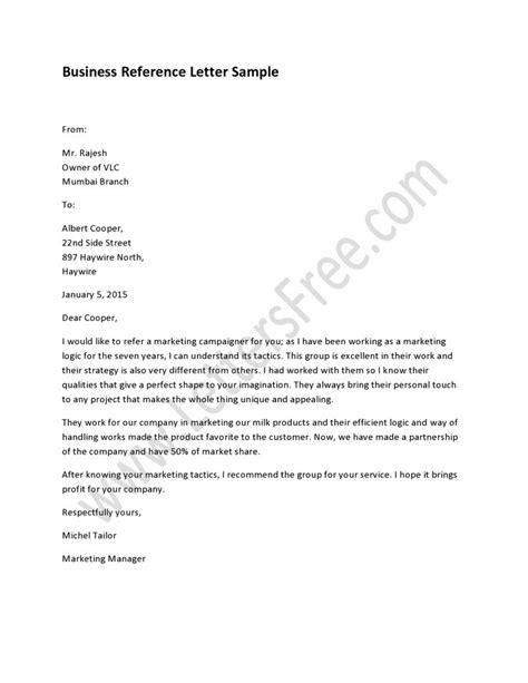 letter format individual to business 25 best ideas about professional reference letter on