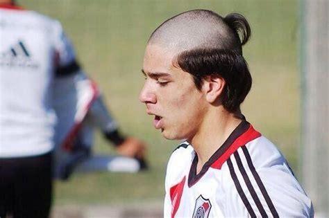 footbalar hair styl worst haircut in football diego simeone s son giovanni