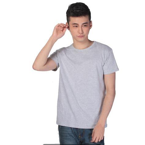 Kaos Pria Kaos Tshirt Sport Taci kaos polos katun pria o neck size m 86102 t shirt gray jakartanotebook