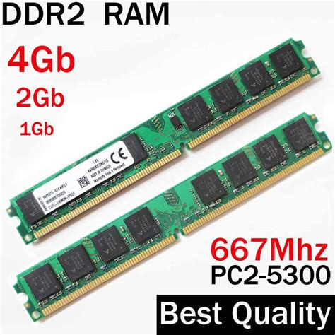 desktop ram ddr2 667 4gb 2gb 1gb 667mhz dual channel for amd for intel memory ram 2gb ddr2 4g