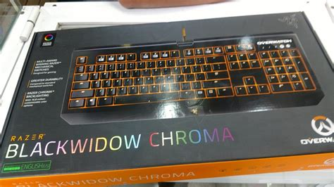 Razer Blackwidow Chroma Overwatch Edition Keyboard Gaming 2 overwatch razer blackwidow chroma mechanical gaming keyboard 3 799 00 en mercado libre