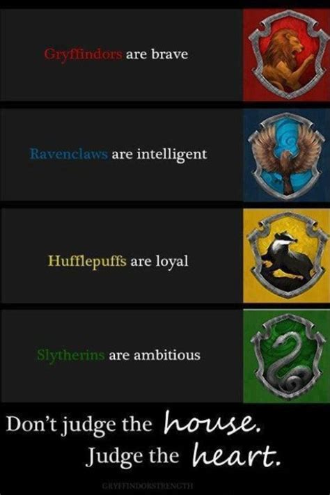harry potter house traits hogwarts houses you might belong in hufflepuff pinterest