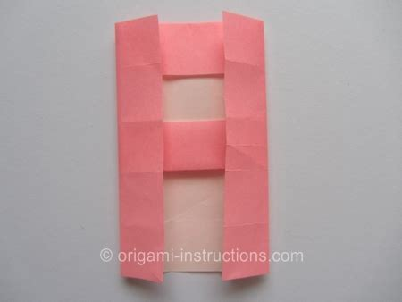 Origami Letter A - origami letter a folding