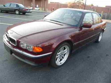 auto air conditioning service 1999 bmw 7 series electronic toll collection find used no reserve 1999 bmw 740i premium sport cold weather package xenons 18 quot rims in