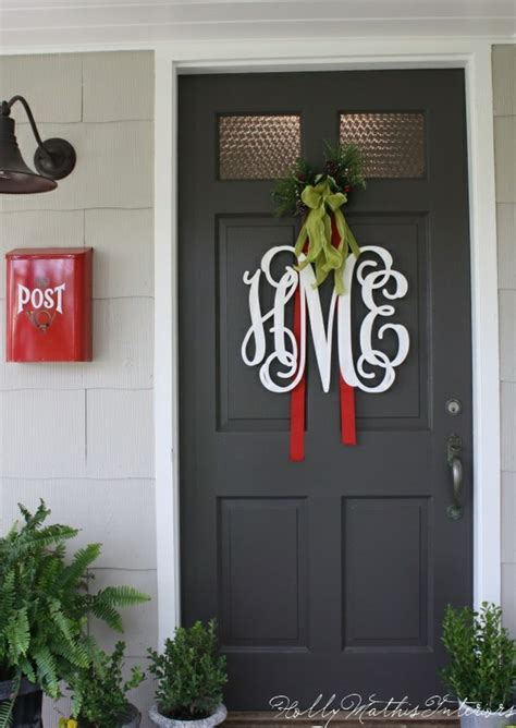 horse country chic monogram wreaths