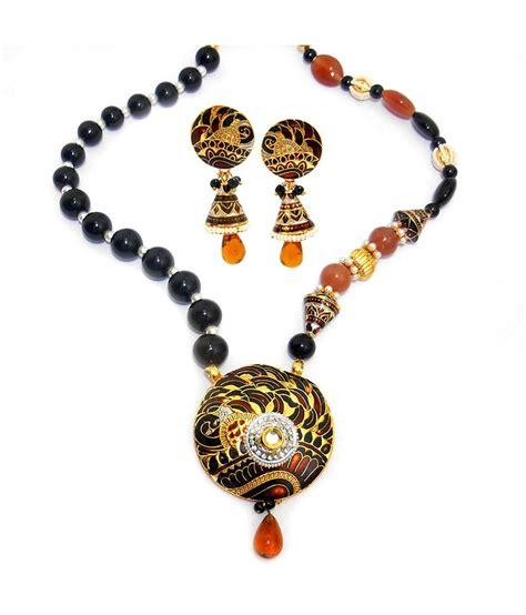 M K 1 Set m k jewellers gold traditional necklace set buy m k