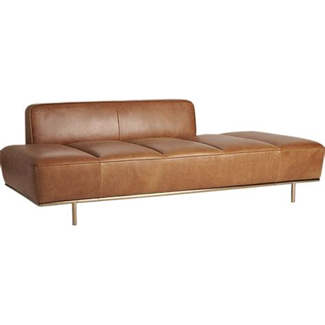 leather daybed lawndale leather daybed leonhard pfeifer