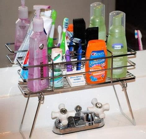 bathroom sink organizer 41 bathroom organization products best storage solutions