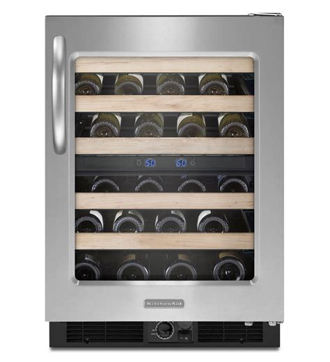 Kitchenaid Architect Series Ii by Kitchenaid 174 24 Inch Wine Cellar Right Door Swing Architect 174 Series Ii