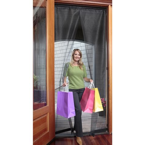 Door Magnetic Screen by Magnetic Screen Door 32 X 96 Inch In Screen Doors
