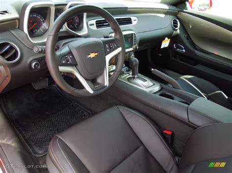 2013 Camaro Ls Interior by Black Interior 2013 Chevrolet Camaro Ss Coupe Photo