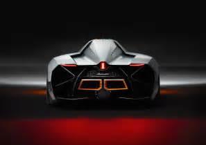 One Seater Lamborghini Lamborghini Shows Single Seat Egoista Autos Ca