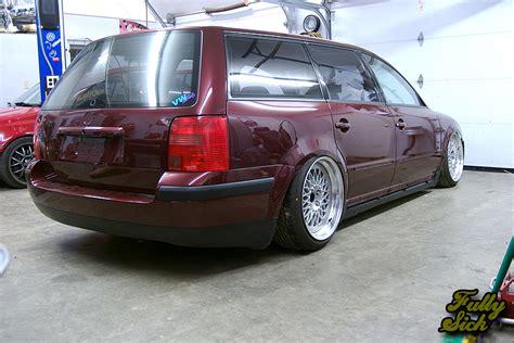 volkswagen wagon slammed wagon