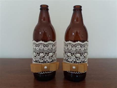 decorar garrafas de vidro renda 42 garrafas decoradas renda passo a passo