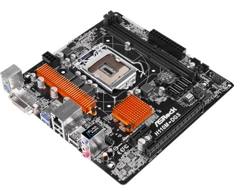 Motherboard Asus H110m D Micro Atx H110 7th Intel Ddr4 Resmi New asrock gt h110m dgs