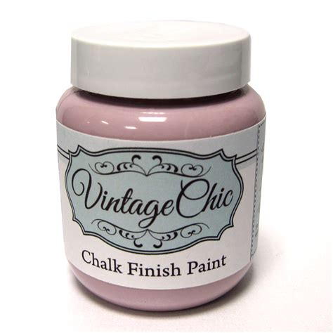chalk paint pink chalk finish paint vintage pink 100ml debbi designs