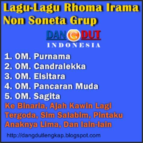 lagu film rhoma irama kumpulan lagu rhoma non soneta blog dangdut indonesia