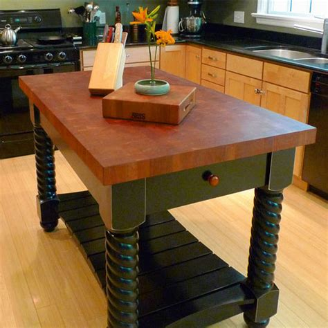 Boos Block Kitchen Island John Boos Cherry Tuscan Isle Boos Block Kitchen Islands