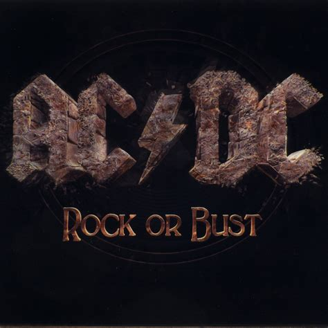 Dc Records Test Schallplatte Ac Dc Rock Or Bust Columbia Records