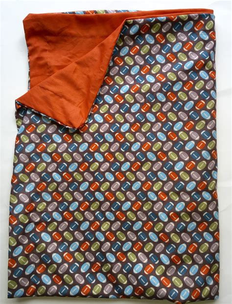 Handmade Weighted Blanket - sensory weighted blanket football 6 lbs handmade new autism