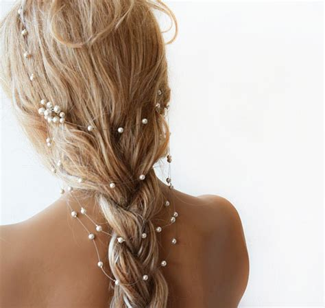 Wedding Hair Accessories With Pearls by Wedding Pearl Headband Pearl Bridal Hair Wedding Hair