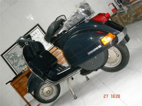 Vespa Px Modif Touring by 16 January 2011 Scooter Nusantara Modification