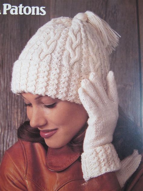 knitting pattern hat scarf mittens patons knitting patterns hats scarves mitts gloves adults
