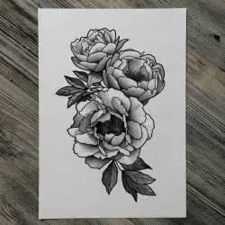 best 25 peony flower tattoos ideas on pinterest